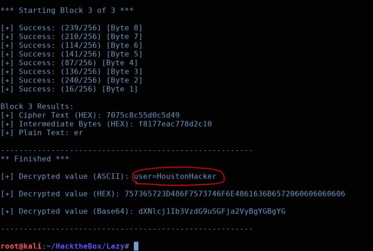 HackTheBox – 'Lazy' Walk-Through – The Houston Hacker